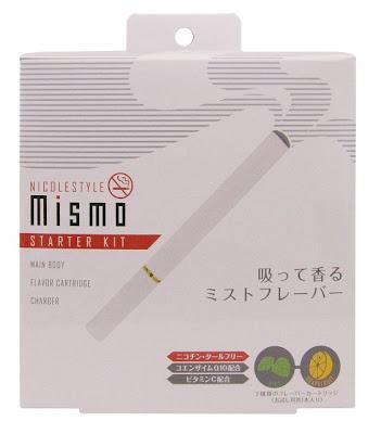 「ニコレスタイルmismo(ミスモ)」煙草のようで煙草でない煙のようで水蒸気なリラクゼーショングッズ