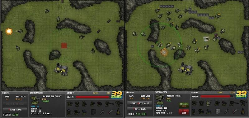 【防衛ゲーム】「Command Grid」色んな砲台を設置して敵を迎撃