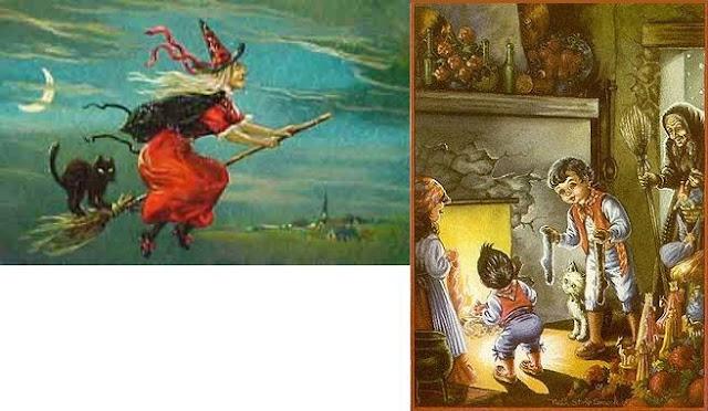 イタリアのサンタクロース(魔女)La Befana