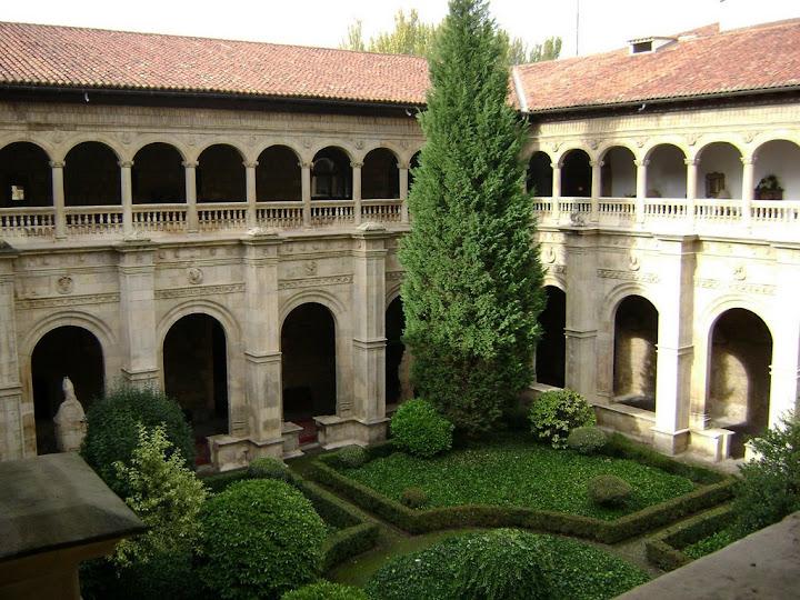 Jardines del Parador de León