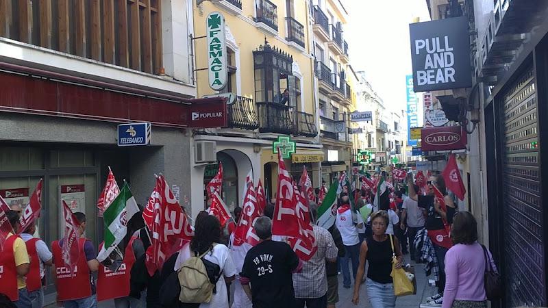 Huelga en Mérida