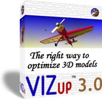 vizup optimize obj models