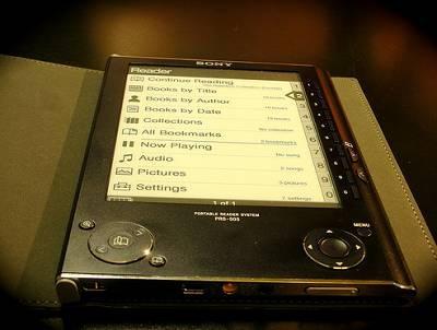 ebook reader sony ebook amazon kindle 2