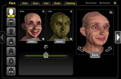 evolver 3d universal avatar crossworld avatars 1