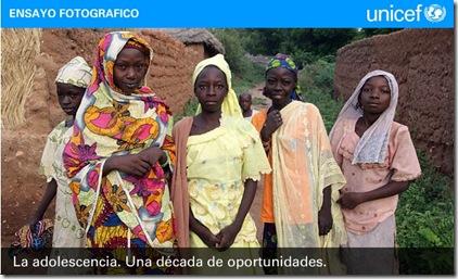 Adolescencia UNICEF