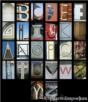 Architectural Alphabet of Historic Downtown Clarksville