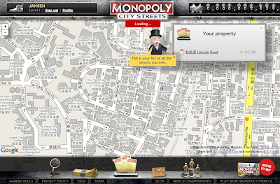 Monopoly City Streets - Check My Streets