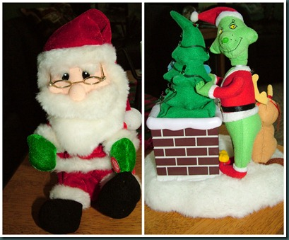 grinch-claus collage