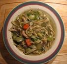 chicken-veggie soup0112