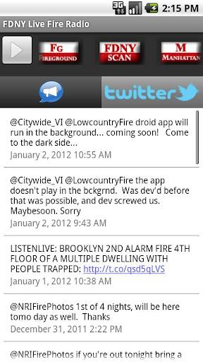 FDNY Live Fire Radio
