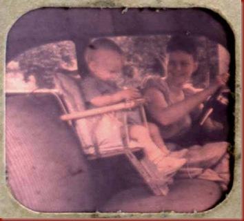 Car Seat 1950's