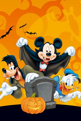 Disney Halloween Wallpaper For iPhone
