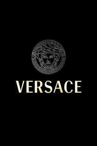 VERSACE Logo iPhone Wallpaper