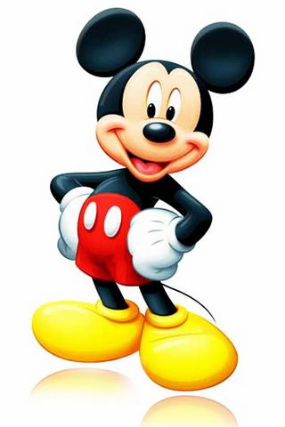 Mickey Mouse Cartoon iPhone Wallpaper