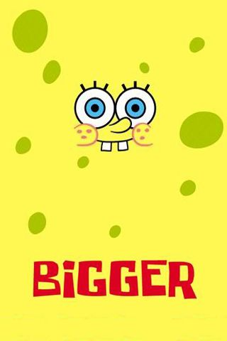 iPhone Background Spongebob Wallpaper