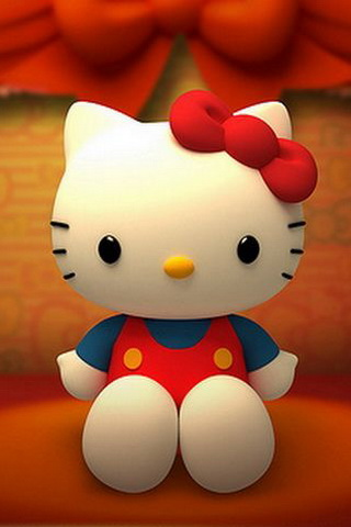 Cute Hello Kitty Picture iPhone Wallpaper