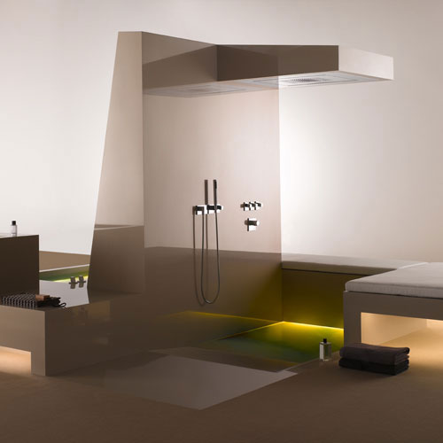 Supernova Bathroom Minimalist Design by Dornbracht