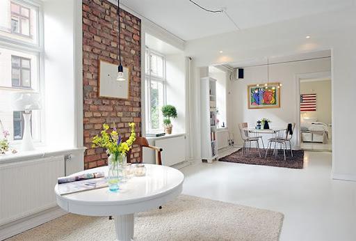 White Apartment Design from Swedish Inspiration