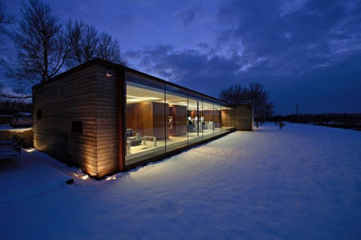 Long Barn Studio and Office Design by Nicolas Tye Architects