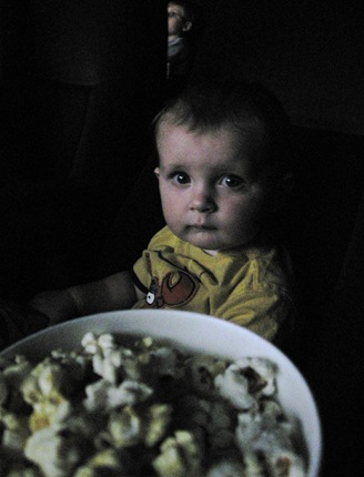 7-16-09 Brody's 1st movie, Charlotte's Web (2)copy