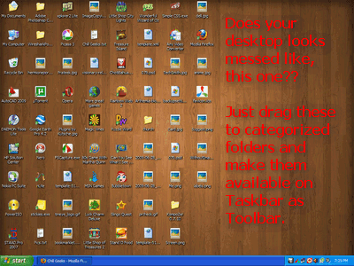 Messed Desktop