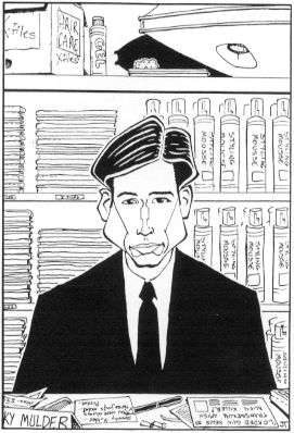 Agent Mulder, by Jason Towers