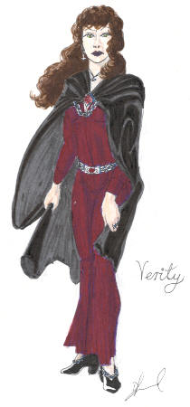 Verity, drawn by Damian Lund