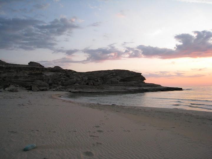 Левый берег Голубой бухты