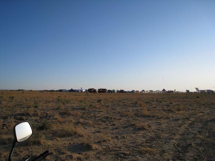Полевой лагерь ралли «Шёлковый путь»