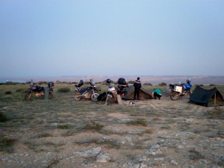 Ночь в каньоне  Султан-эпесай