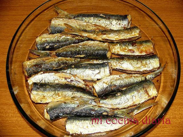 Sardinas en escabeche (Сардины в маринаде)