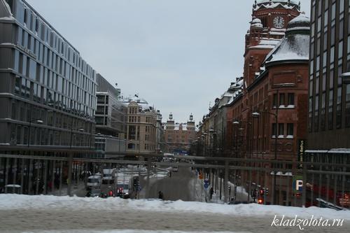 Швеция январь 2011 года