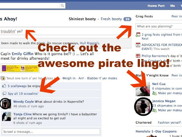 Discovery of the Week: Facebook and Pirates & Check out our new layout!