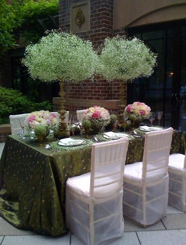 babys breath wedding decor Let me start by saying that