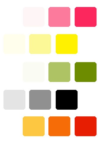 Picking your Wedding Colors Part 2 Monochromatic Wedding Color Scheme