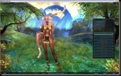 Prius Online / Anima Online - character creation screen.