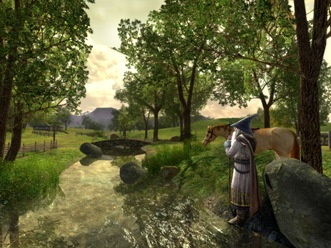 Lord of the Rings Online - i was playing it for a very long time, but quit due to a failure its developers made.