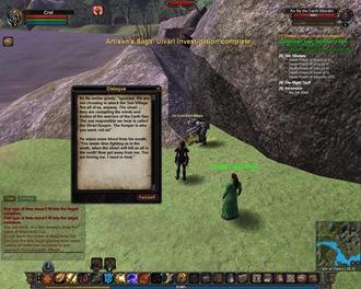 Vanguard: Saga of Heroes, Isle of Dawn Quest: Artisan's Saga: Ulvari Investigation (Crafting)