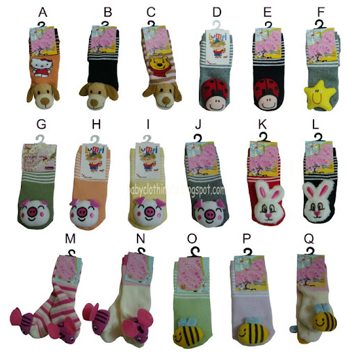 Cute 3D Animal Socks