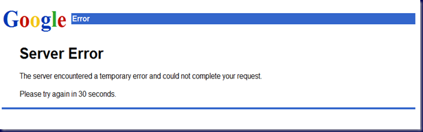 09-03-11 Google Error