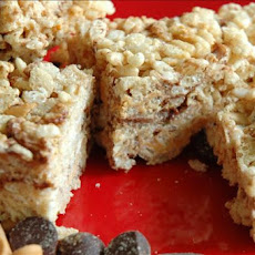 Rice Krispies Treats With Peanut Butter Chips