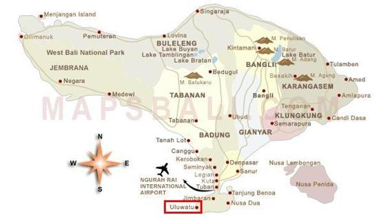 map-bali