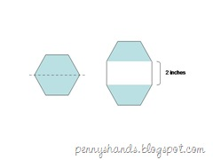 elongate hexagon