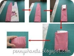 folding owl bag
