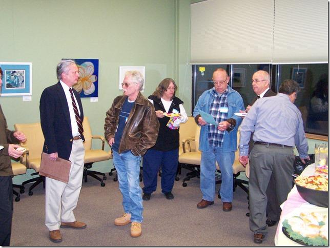 My cronies:  Ken, Leo, Pat, Frank, Charlie and Sal