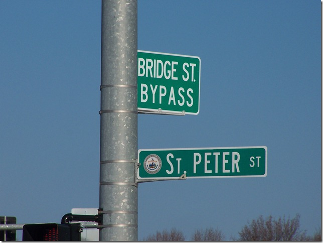 The bypass road at St. Peter St. gets a new name