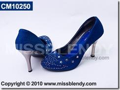 รองเท้าคัทชู สีน้ำเงิน