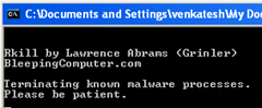 Rkill-terminates malicious processes