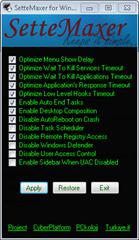 SetteMaxer for Windows 7