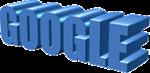 Google 3-D Text Image
